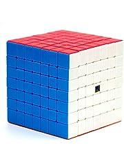 LiangCuber Moyu MoFang JiaoShi Meilong 7x7x7 stickerless Magic Cube MFJS MEILONG 7x7x7 Cubing Classroom Mini 66mm Size Education Toys