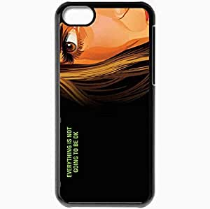 Personalized iPhone 5C Cell phone Case/Cover Skin A scanner darkly winona ryder donna hawthorne face Movies Black by supermalls
