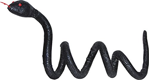 UHC Scary Haunted House Snake Poseable Horror Theme Party Halloween Decoration ()