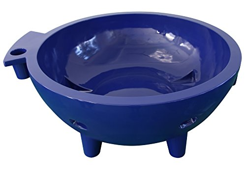 ALFI brand FireHotTub-DB Fire Hot Tub, Dark Blue