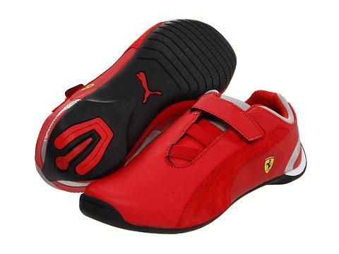 Puma Future Cat M2 SF NM V Kids Sneaker (Toddler/Little Kid/Big Kid),Rosso Corsa/Rosso Corsa/White,4 M US Toddler (Casual Puma Cat Future)