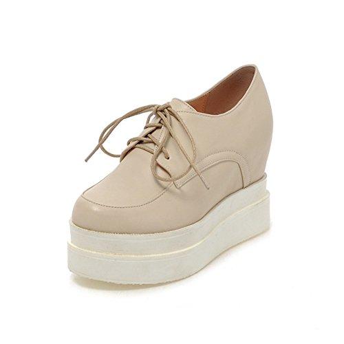 Zapatos Con Tacón Alto Invisible/Zapatos De Tacón Alto/Zapatos Ocasionales Del Estudiante/Zapatos De Plataforma Correa B