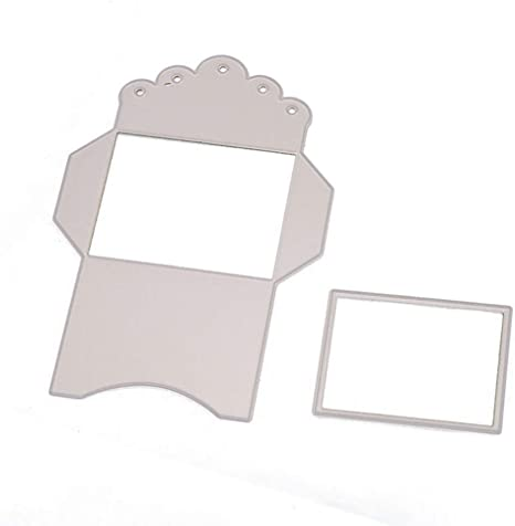envelope metal cutting dies stencil scrapbook album paper embossing craf UP