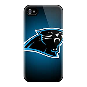 Iphone 6plus BJY7247janK Custom Realistic Carolina Panthers Image Shock Absorbent Hard Cell-phone Case -AlissaDubois