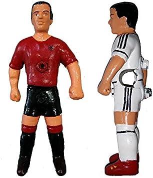 Deportin Jugador futbolin Nuevo Modelo Barra 13 mm. Color Rojo 1 unid: Amazon.es: Deportes y aire libre