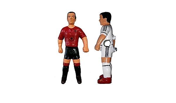Deportin Jugador futbolin Nuevo Modelo Barra 13 mm. Color Blanco/Negro 1 unid: Amazon.es: Deportes y aire libre