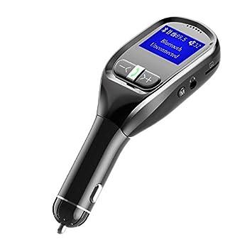 WYUE Transmisor de FM, G11 Nuevo Coche Bluetooth MP3 Dual USB ...