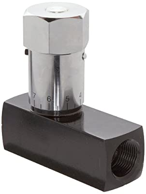 "Prince WFC-1200 Wolverine Flow Control Valve, Carbon Steel, In-Line, 25 gpm Max Flow, 3/4"" NPTF from Prince Manufacturing"