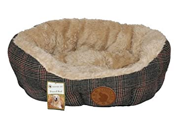 William Hunter Equestrian Cama para Perro Tweed de Lujo - Large: Amazon.es: Deportes y aire libre