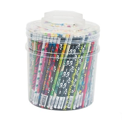 Pencil Tub - Everyday Prints Assortment 2 units by Fun Express