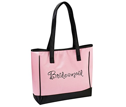 - Lillian Rose Pink Bridesmaid Tote Bag Wedding Party Gift