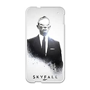 HTC One M7 Phone Case for Classic Theme Skyfall 007 pattern design GJBDSFL00791168