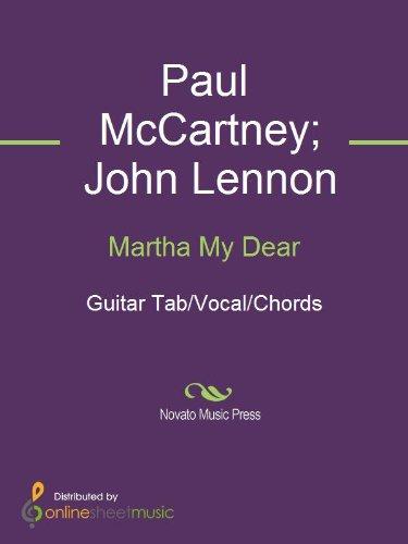 Martha My Dear Kindle Edition By John Lennon Paul Mccartney The