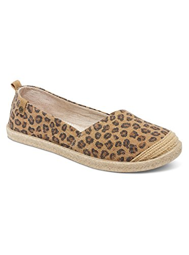 roxy-womens-flamenco-slip-on-shoes-flat-cheetah-print-10-m-us