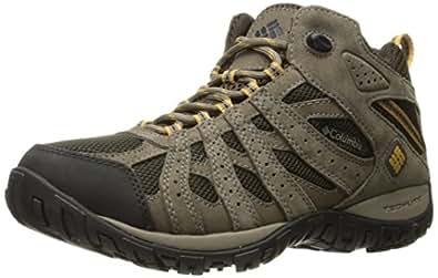 Columbia Men's Redmond Mid Waterproof Wide Hiking Boot, Cordovan, Dark Banana, 11.5 2E US