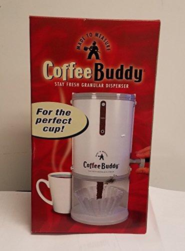 COFFEE BUDDY STAY FRESH GROUND COFFEE DISPENSER