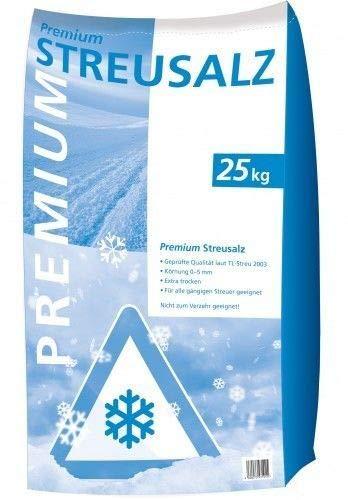 Bajo porcentaje de polvo sal de invierno hielo hielo esparcidor Saco de 25 kg Sal de deshielo pr/émium