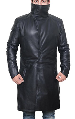Mens Magnet Closure Blade Runner Coat - Mens Leather Jacket, XL by Decrum (Image #1)