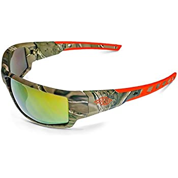 Crossfire Eyewear 411432 Cumulus Safety Glasses with Gold Mirror ...