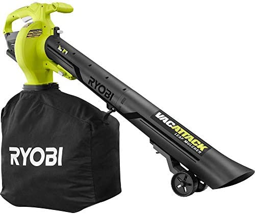 RYOBI 40-Volt VacAttack Lithium-Ion Cordless Leaf Vacuum Mulcher with Metal Impeller,Variable Speed Dial, and Heavy Duty Bag Battery and Charger Not Included