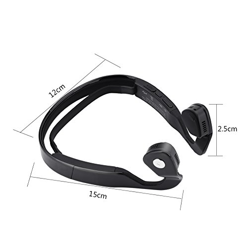 Bone Conduction Headphones Bluetooth Wireless HiFi Stereo with Mic for Running Driving Cycling Open Ear Sports Headsets for iphone Android other Bluetooth Devices