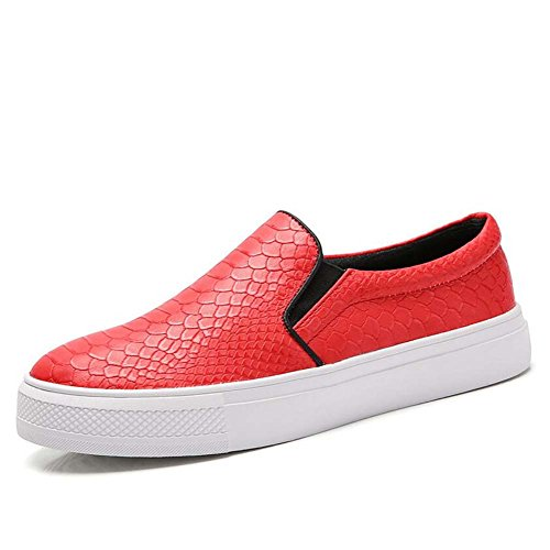 Blancos Primavera Rojo Moda Mujer Casuales Perezosos Carrefour Cómodo Trend Nuevos Zapatos De Px6q1x0