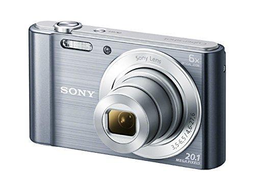 Sony DSC-W810M - 20.1 MP Digital Camera with 6x Optical Zoom - Silver ()