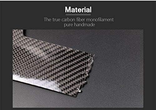 NOLO Suitable for BMW 1 Series F20 F21 2012-2018 auto Parts Instrument Panel Side air Outlet Cover Decoration auto Parts Carbon Fiber