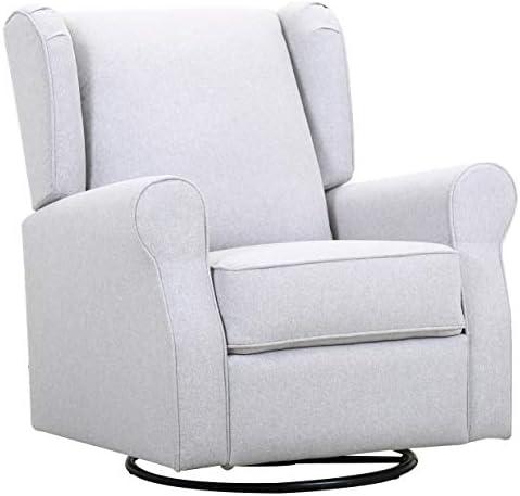 Amazon Brand Ravenna Home Wingback Swivel Glider Chair