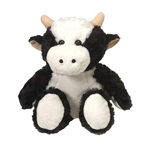 Fiesta Toys Black and White Bean Bag Cow Plush Stuffed Animal Toy - 13