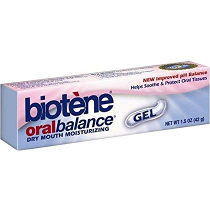 3 Pack Biotene Oral Balance Dry Mouth Moisturizing Gel 1.5 oz soothe oral tissues long