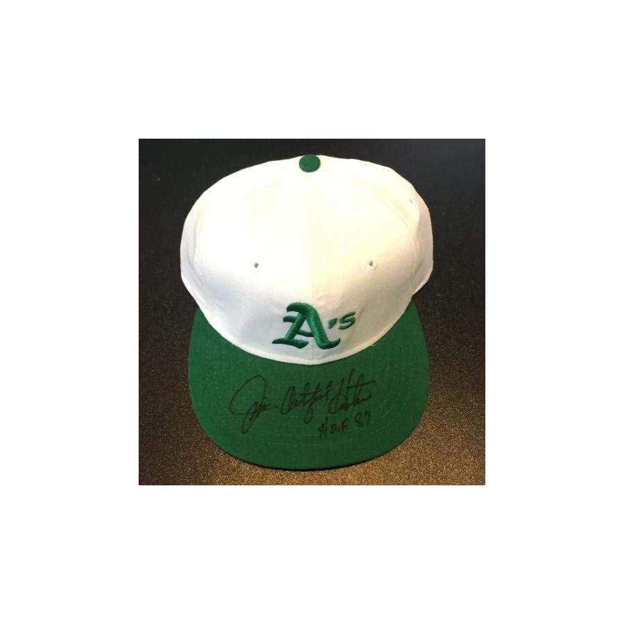 "RARE Catfish Hunter""HOF 1984"" Signed Game Model Oakland Athletics A's Hat PSA/DNA Certified Autographed Hats"
