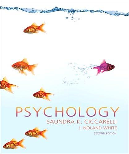 Psychology 9780136004288 Saundra K