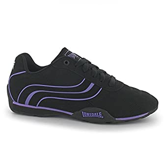 f4047cb497aa Lonsdale Womens Camden Ladies Trainers Lace Up Casual Sports Shoes  Footwear  Amazon.co.uk  Clothing