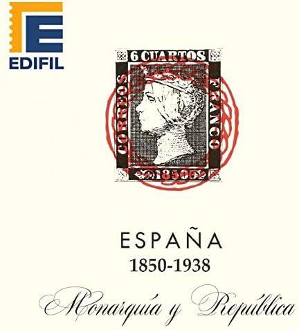 EDIFIL Juego de Hojas Álbum de Sellos de España. Monarquía y ...