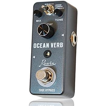 Rowin Ocean Verb Reverb Digital Guitar Effect Pedal