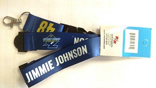 Jimmie Johnson 2016 7x Champion Lanyard Deluxe Breakaway Keychain Sprint Cup Nascar Racing
