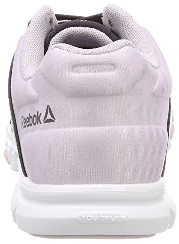 Smoky 0 Reebok Fitness Shoes Quartz Yourflex Women's Mt 10 White Trainette Volcano Purple Rrnc1RxZUW
