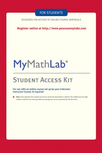 MyMathLab: Student Access Kit (Lab Monkey)