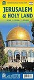 Jerusalem & Holy Land Travel Reference Map 4th Ed. 2019 (Waterproof)