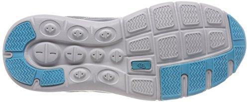Bruetting Unisex Adults' Dallas Low-Top Sneakers Grey (Grau/Tuerkis) gNwN2