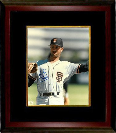 Image Unavailable. Image not available for. Color  Will Clark Signed San  Francisco Giants 8x10 Photo Custom Framed (white jersey-throwing- 3ce9856ea