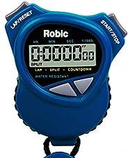 Cronômetro Robic duplo/Temporizador de contagem regressiva