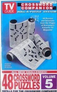 Herbko International, Inc  Tv Guide: Crossword Companion Refills