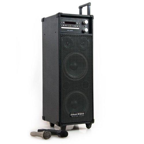 PA DJ System Soundsystem Radio Lautsprecher DVD USB Wireless Port-USB