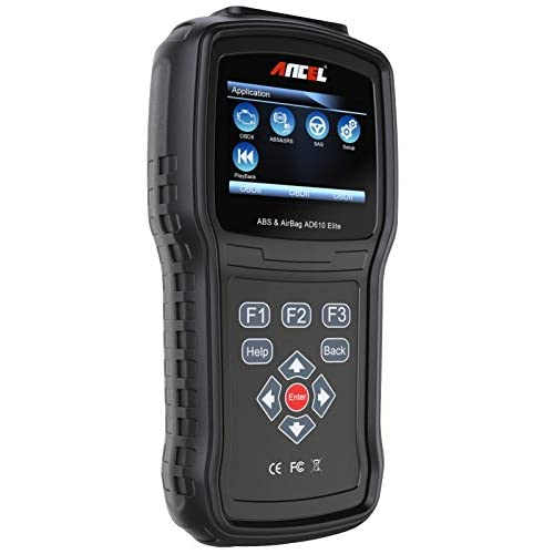 Image of ANCEL AD610 Elite OBDII Scanner ABS SRS(Airbag) Reset Scan Tool Automotive Check Engine SAS Diagnostic Code Reader Code Readers & Scan Tools