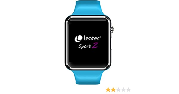 Leotec LESW06B Smart Watch Armbanduhr