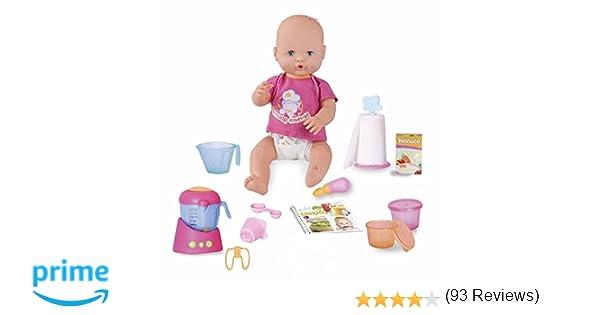 Amazon.es: Nenuco 700013300 - Merienditas, muñeca con accesorios ...