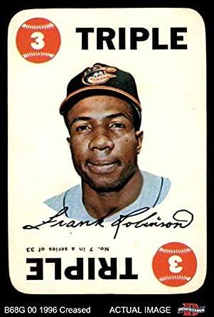 Amazoncom 1968 Topps Game 7 Frank Robinson Baltimore