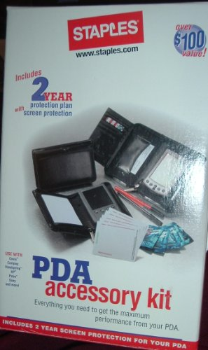 PDA Accessory Kit - Everything you need to get the maximum performance from your PDA